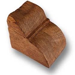 CS49walnut - H-10 cm W-10 cm L-12 cm