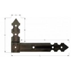 Corner beam casing
