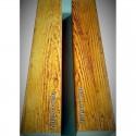 Teak-decorative beam